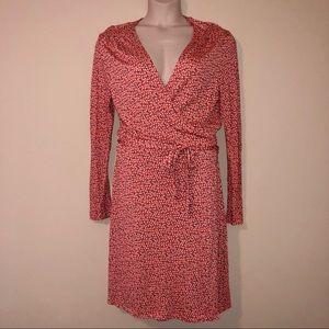 Old Navy Long Sleeve Wrap Dress